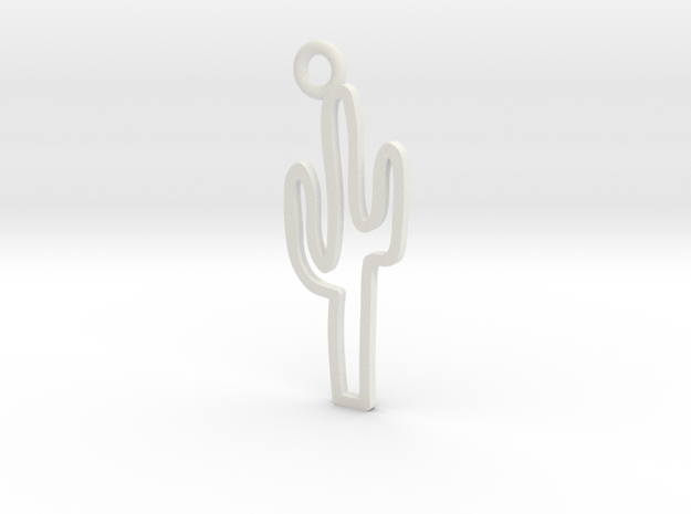 Cactus Charm! in White Strong & Flexible