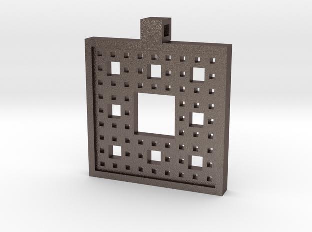 Fractal Pendant in Stainless Steel