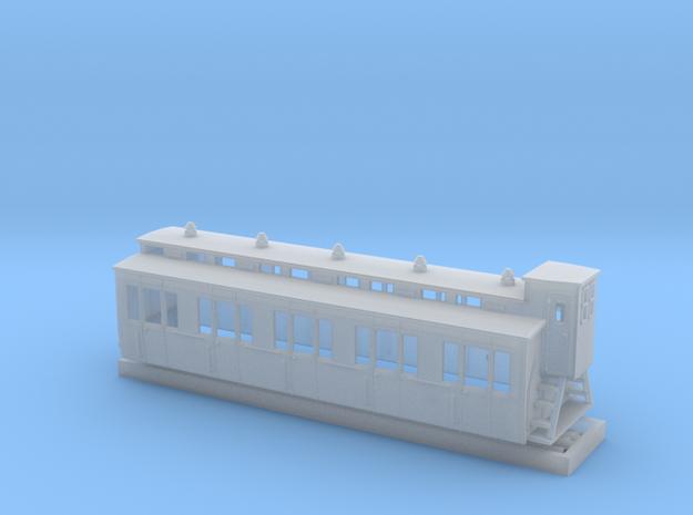Abteilwagen II. Fl Vorortbahn -2 in Smoothest Fine Detail Plastic