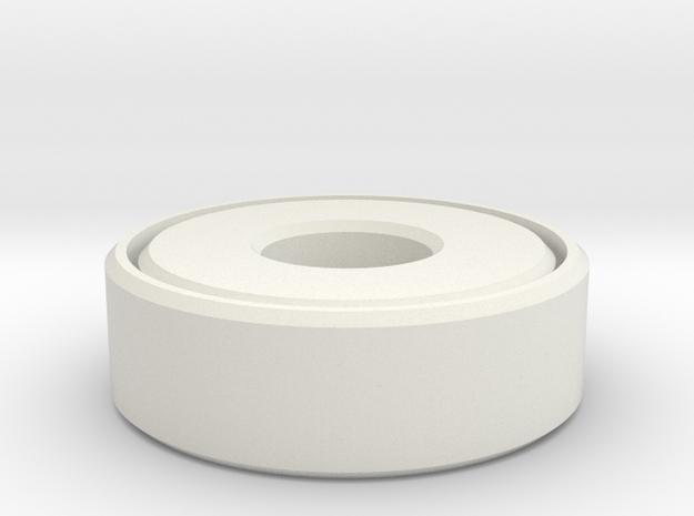 Bearing in White Natural Versatile Plastic