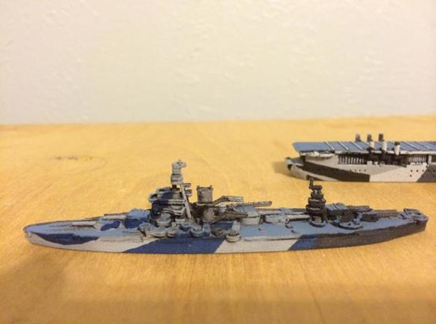 USS Arkansas 1/1800 3d printed Expertly painted by Nightfall