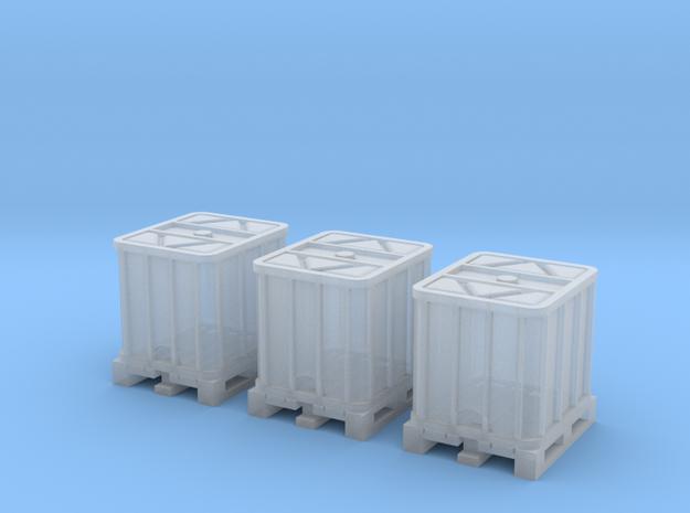 TJ-Z2010x3 - Conteneurs 1000l in Smoothest Fine Detail Plastic