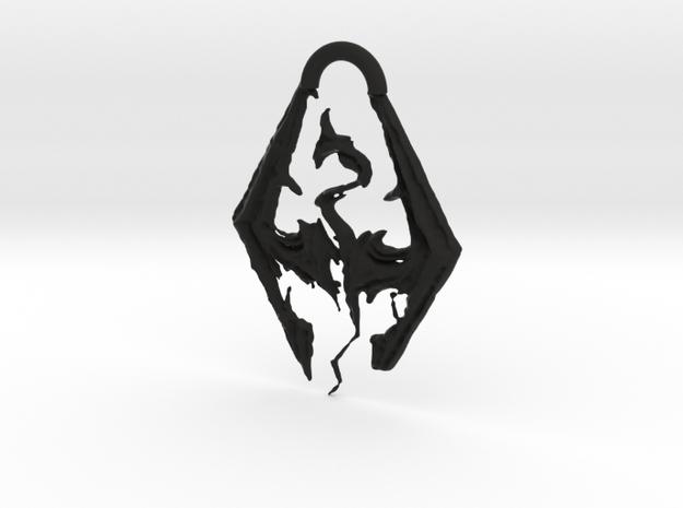 The Elder Scrolls V Skyrim in Black Natural Versatile Plastic: Medium