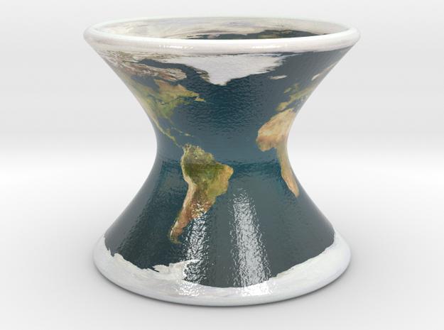Earth on a Hyperboloid