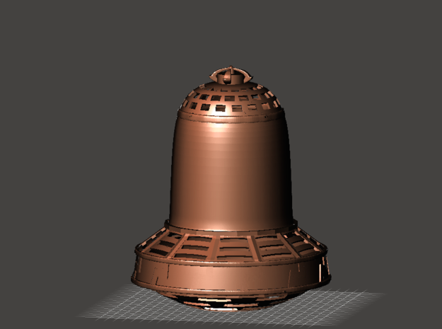 "Die Glocke! (""Hollywood"" version) in White Strong & Flexible: 1:35"