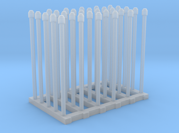 1/144 Fairmile Mushroom Top Stove Pipes x30 in Smoothest Fine Detail Plastic