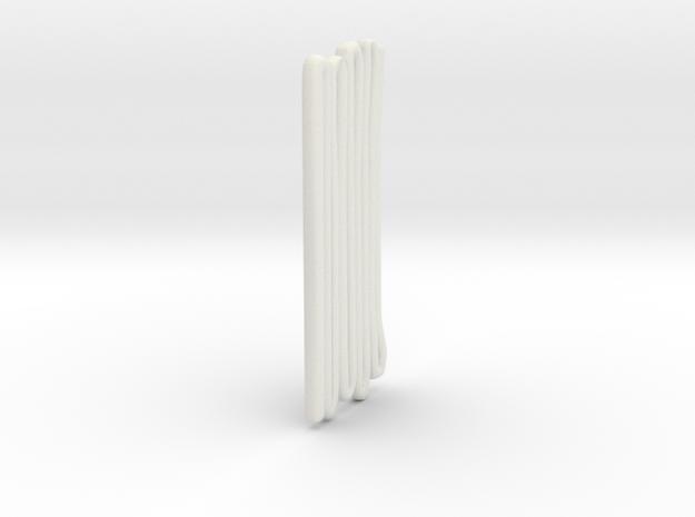 1/87 Crosslay in White Natural Versatile Plastic