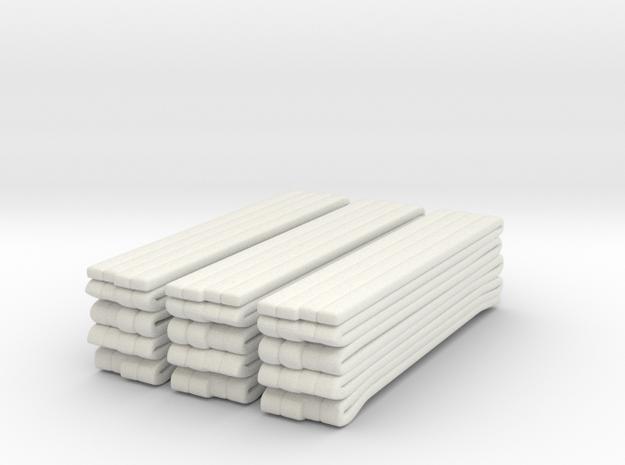 1/87 Seagrave Hose Load in White Natural Versatile Plastic