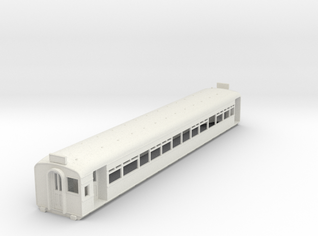 O-76-l-y-bury-third-class-coach in White Natural Versatile Plastic