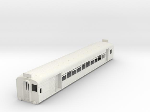 O-87-l-y-bury-motor-coach in White Natural Versatile Plastic