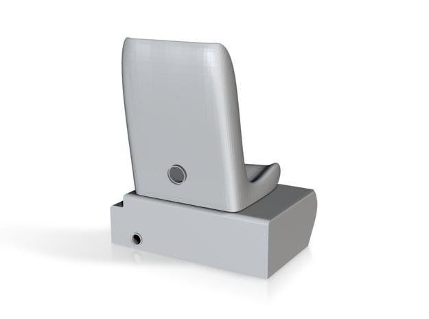 1.6 MD500 SIEGE GAUCHE in White Processed Versatile Plastic