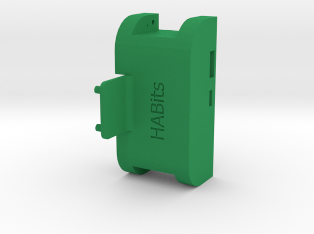 Holder  in Green Strong & Flexible Polished