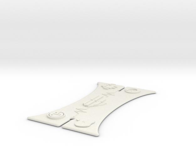 Earphone Anti-tangler in White Strong & Flexible