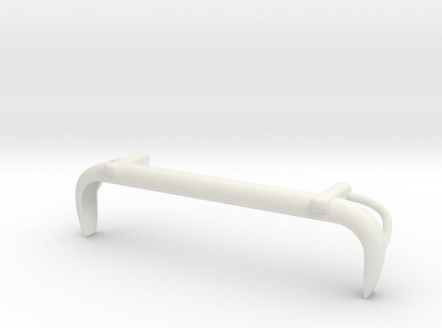 VW T1 Rearbumper in White Strong & Flexible