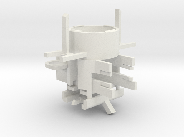 Thermal Detonator Chassis in White Natural Versatile Plastic