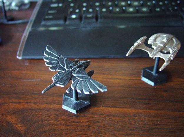 Murustan Banshee class Patrol Cruiser 3d printed Printed model in Black Detail
