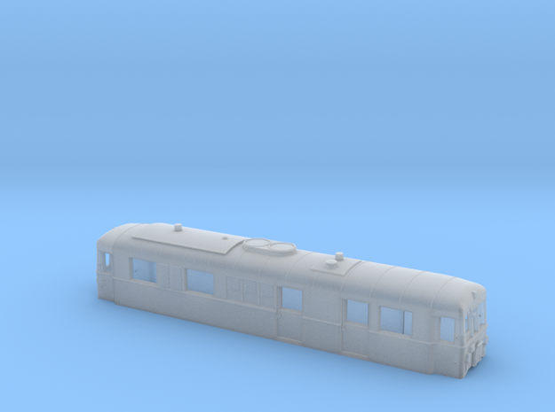 Schmalspurtriebwagen T3 der HSB (1:160)