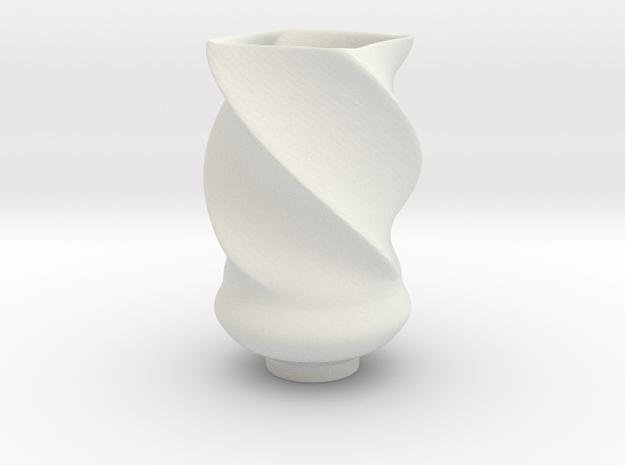 modern Vase in White Strong & Flexible