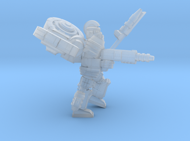 32mm  Gargoyle pose 2 in Smooth Fine Detail Plastic