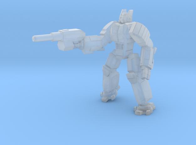 Hoplite pose 1 in Smooth Fine Detail Plastic