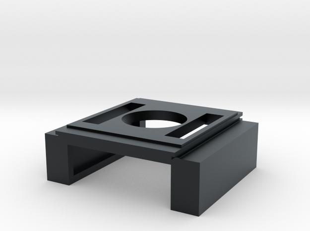 SD60E Intercooler (S Scale) in Black Hi-Def Acrylate