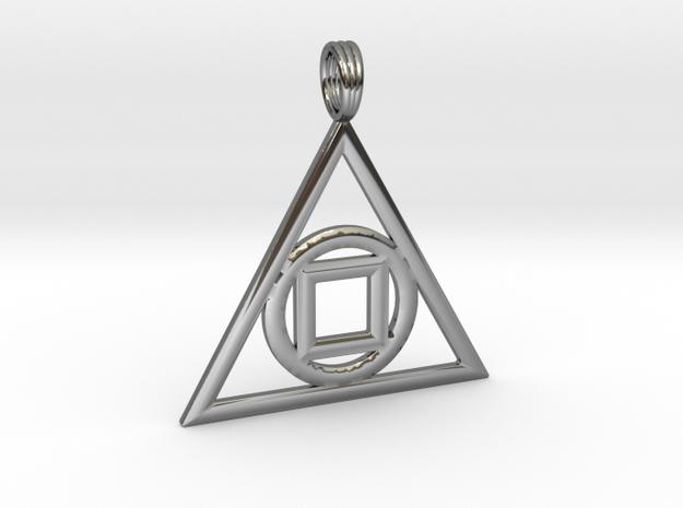 GEO-PRIMA in Premium Silver