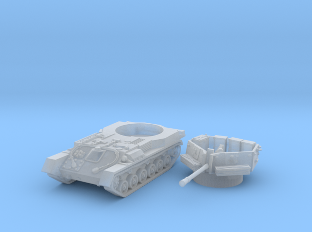 ZSU -37 tank (Russian) 1/144 in Smooth Fine Detail Plastic