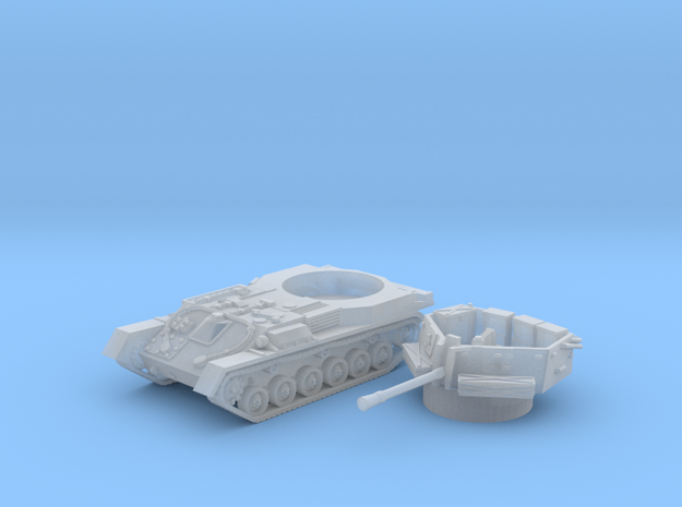 ZSU -37 tank (Russia) 1/200 in Smooth Fine Detail Plastic
