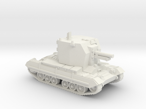 Bishop (artillery) (British) 1/87 in White Natural Versatile Plastic