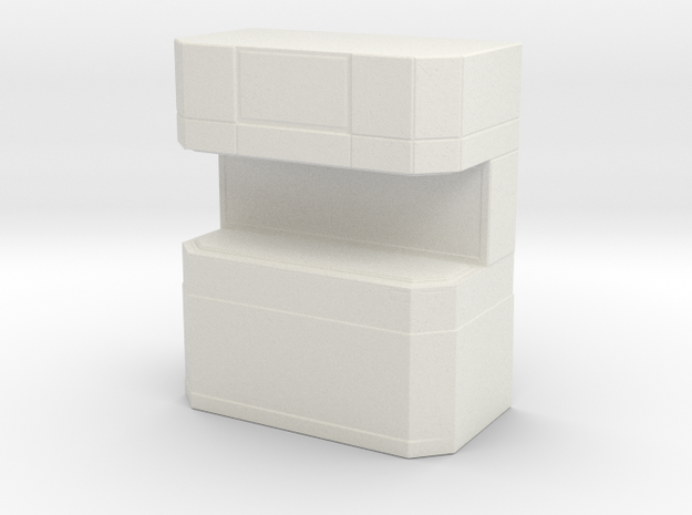 Replicator (Star Trek Next Generation) in White Natural Versatile Plastic: 1:30