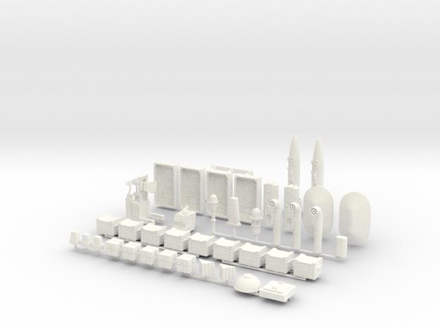 Docking Bay, 1:43, 1 of 2 in White Processed Versatile Plastic