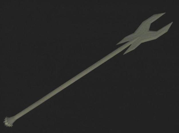 Deadly Spear 3d printed An unpainted example of this sword