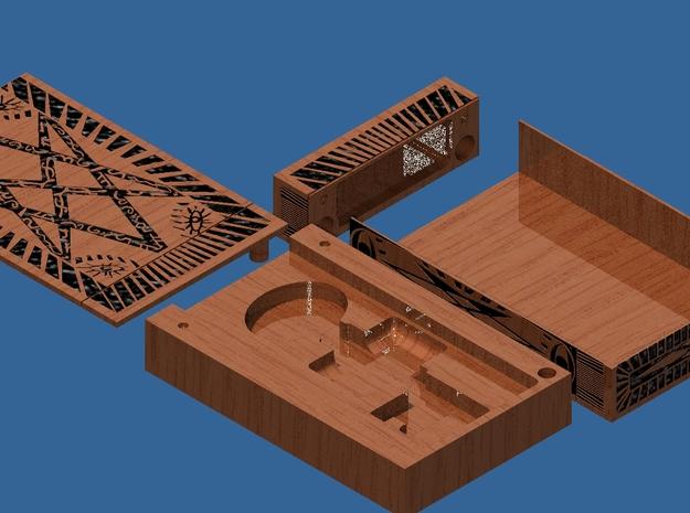 Supernatural Men of Letters Box (Body Insert) 3d printed