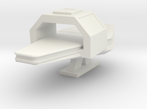 Medbay Surgical Bed (Star Trek Next Generation) in White Natural Versatile Plastic: 1:30