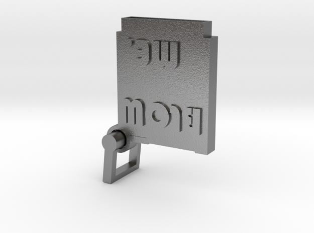 BLOW ME (NES) in Interlocking Raw Silver