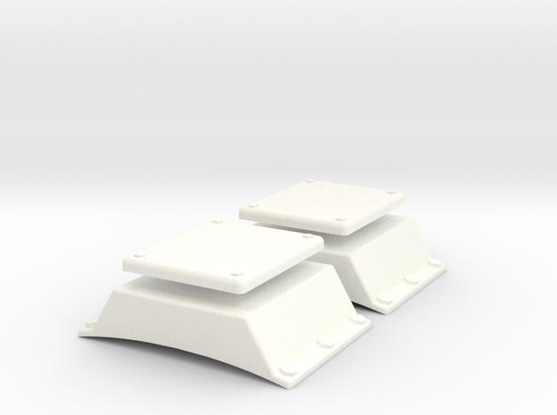 1.6 ANTENNE ALTIMETRE EC135 X2 in White Processed Versatile Plastic