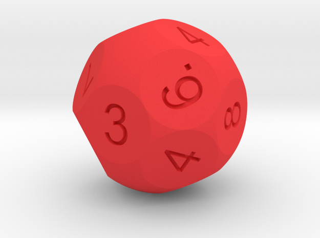 D16 numbered as 2D4 in Red Strong & Flexible Polished