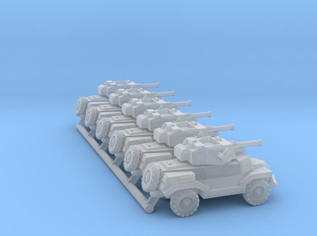 Marmon-Herrington Mk. IV pack of 6x in Smooth Fine Detail Plastic: 1:350