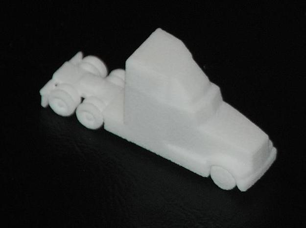 Tractor1 - Zscale 3d printed Early Print