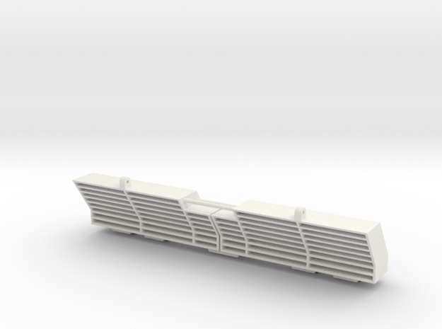 1/16 M4a2 Exhaust Deflector in White Natural Versatile Plastic