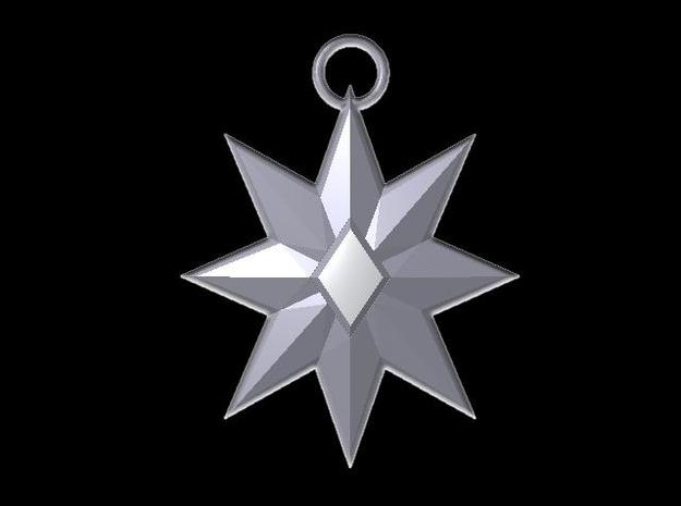 Star Pendant 3d printed Description