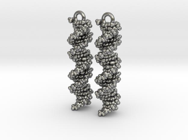 DNA Molecule Earring Set