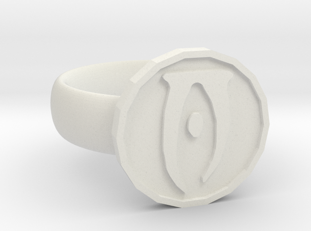 Oblivion Ring in White Strong & Flexible