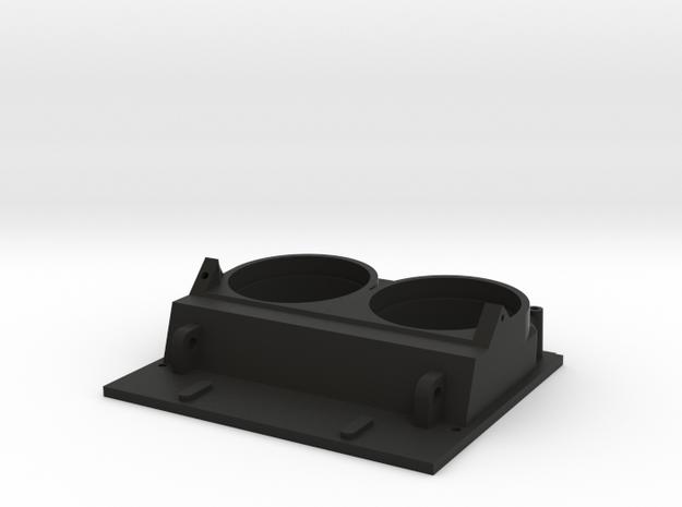 K14 Gunsight Top Plate  in Black Strong & Flexible