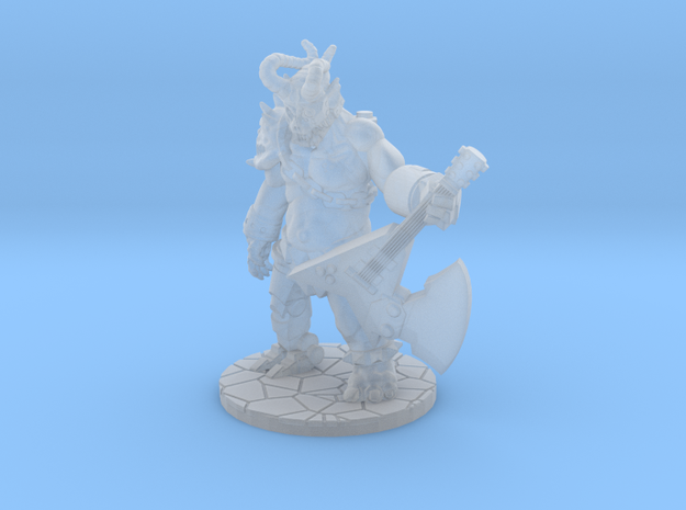 Metal Demon  in Smooth Fine Detail Plastic