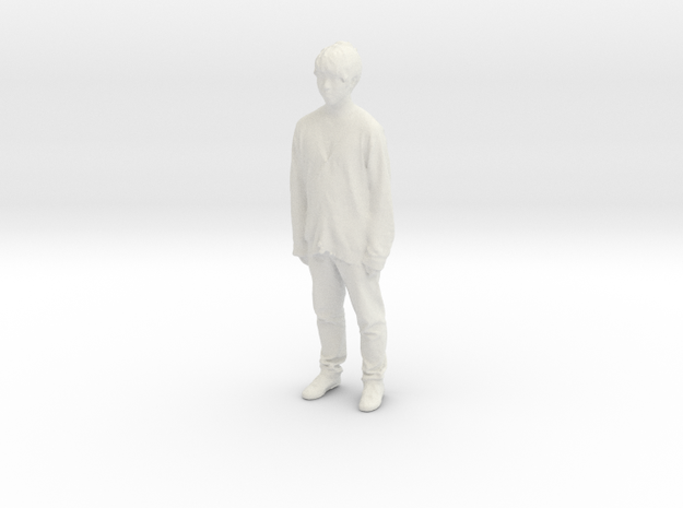 Printle C Homme 740 - 1/24 - wob in White Natural Versatile Plastic