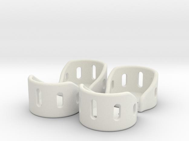Rygel 1.7.1 - Motor Guards in White Natural Versatile Plastic
