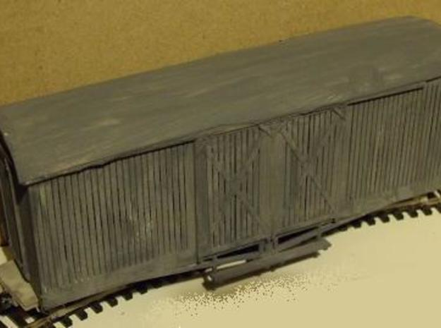 A-1-35-wdlr-d-wagon-van-body5b-plus 1/35 scale in White Natural Versatile Plastic