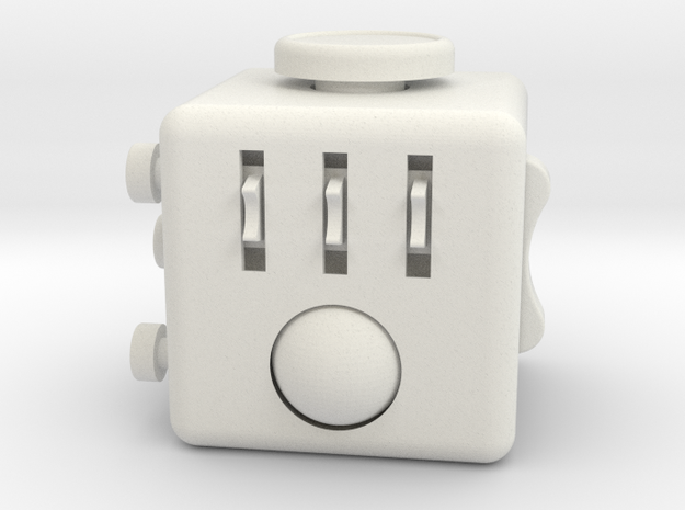 Fidget Cube. A Nylon Desk Toy