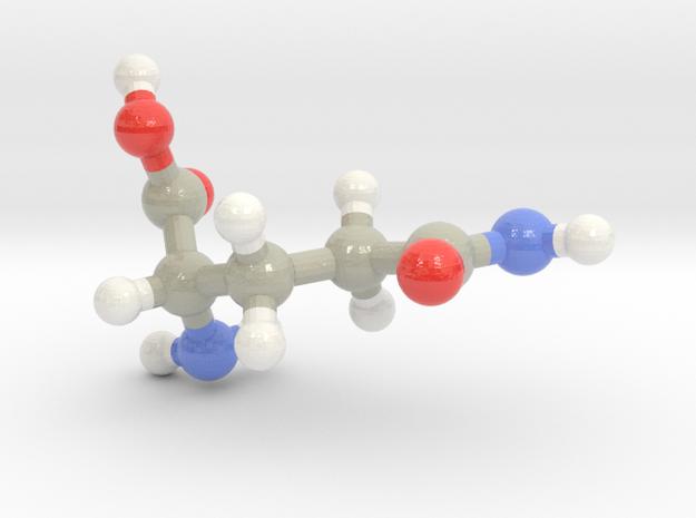Glutamine (Q) in Glossy Full Color Sandstone